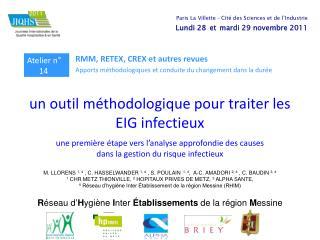 un outil méthodologique pour traiter les EIG infectieux