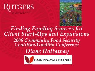 Finding Funding Sources for Client Start-Ups and Expansions