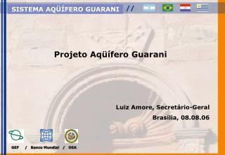 GEF     /   Banco Mundial   /   OEA