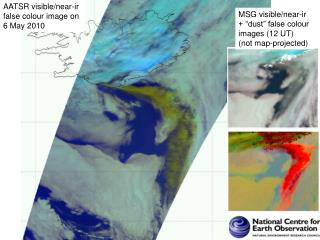 AATSR visible/near-ir false colour image on  6 May 2010