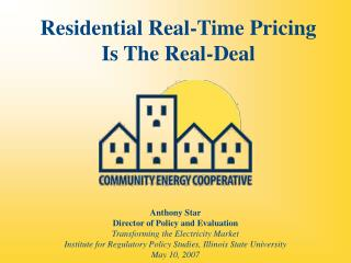 Residential Real-Time Pricing Is The Real-Deal