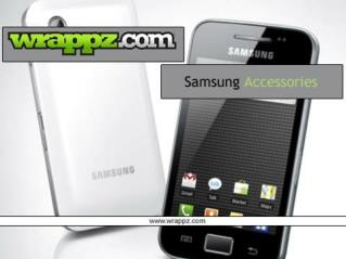 Wrappz Offer Quality Samsung Mobile Phone Accessories