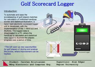 Golf Scorecard Logger
