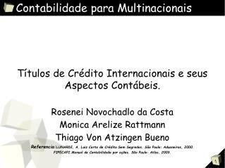 Contabilidade para Multinacionais
