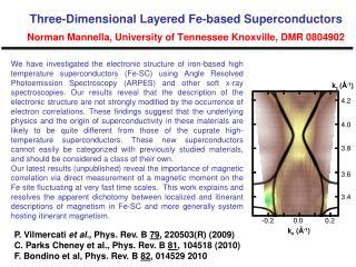 P. Vilmercati  et al.,  Phys. Rev. B  79 , 220503(R) (2009)