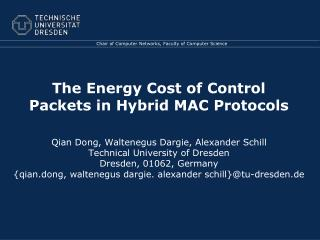 The Energy Cost of Control Packets in Hybrid MAC Protocols