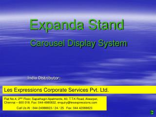 Expanda Stand Carousel Display System