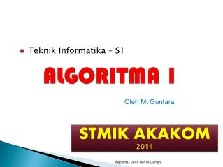 ALGORITMA 1