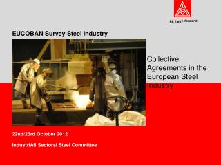 EUCOBAN Survey Steel Industry