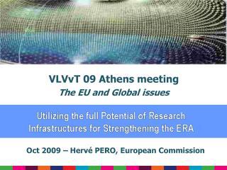 Oct 2009 – Hervé PERO, European Commission