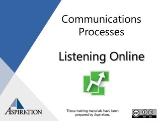 Communications Processes