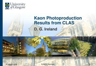 Kaon Photoproduction Results from CLAS