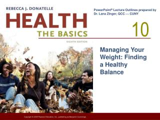 Managing Your Weight: Finding a Healthy Balance