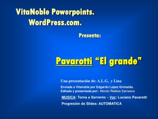 """Pavarotti  """"El grande"""""""