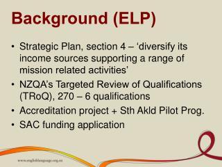 Background (ELP)