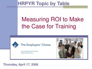 Measuring ROI to Make the Case for Training