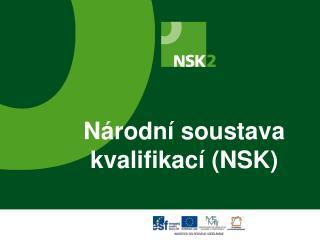 Národní soustava kvalifikací (NSK)