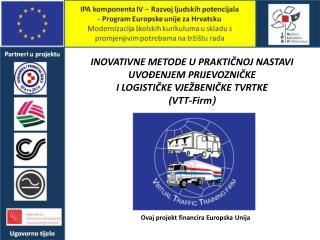 Ovaj projekt financira Europska Unija