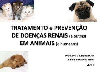 TRATAMENTO e PREVENÇÃO DE DOENÇAS RENAIS  (e outras)  EM ANIMAIS  (e humanos)
