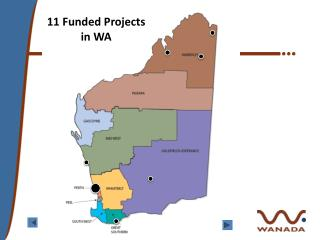 11 Funded Projects in WA