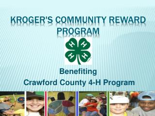Krogers Community Reward Program