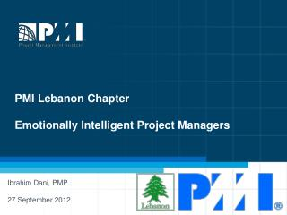 PMI Lebanon Chapter Emotionally Intelligent Project Managers
