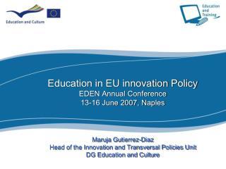 A qualitative change:  the revised Lisbon Agenda