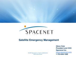 Satellite Emergency Management