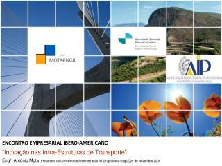 """""""Inovação nas Infra-Estruturas de Transporte"""""""