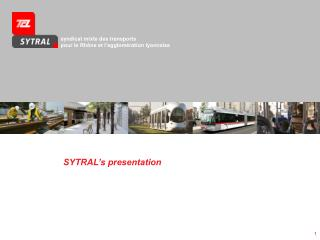 SYTRAL's presentation