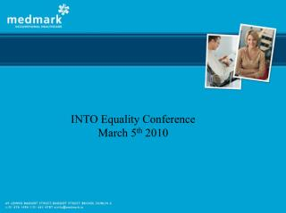 INTO Equality Conference  March 5 th  2010