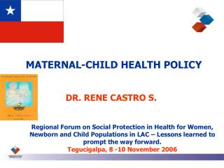 MATERNAL-CHILD HEALTH POLICY