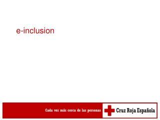 e-inclusion