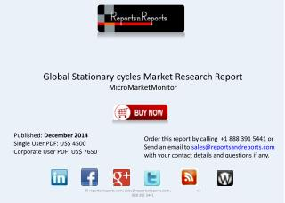 Overview of Worldwide Stationary Cycles Industry Report