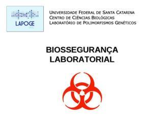 Universidade Federal de Santa Catarina Centro de Ciências Biológicas