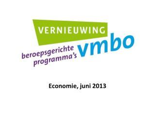 Economie, juni 2013