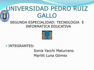 UNIVERSIDAD PEDRO RUIZ GALLO