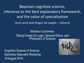Bayesian  cognitive science ,