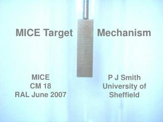 MICE Target   Mechanism