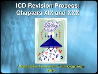 ICD Revision Process: Chapters XIX and XXX