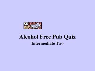 Alcohol Free Pub Quiz