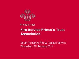 Fire Service Prince's Trust Association