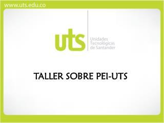 TALLER SOBRE PEI-UTS