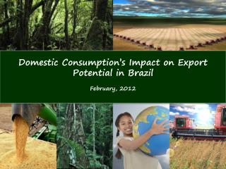 Domestic Consumption ' s Impact on Export Potential in Brazil  February, 2012