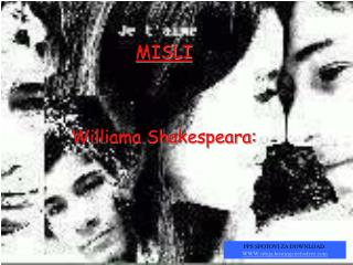 MISLI Williama Shakespeara: