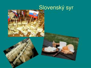 Slovenský syr