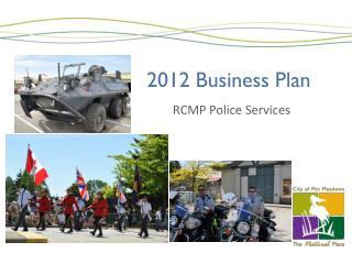 2012 Business Plan