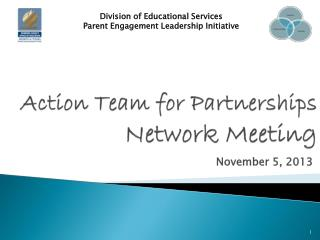 Action Team for Partnerships Network Meeting