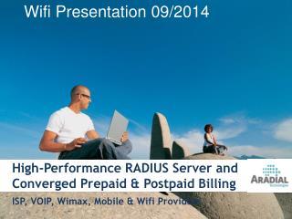 Wifi Presentation 09/2014