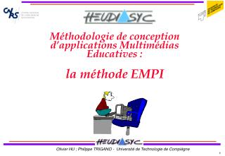 Méthodologie de conception d'applications Multimédias Educatives : la méthode EMPI